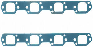 Fel pro Small Block Ford Exhaust Manifold header Gasket 2 Pc P n 1427