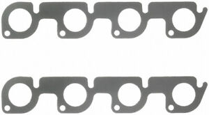 Fel pro Small Block Ford Exhaust Manifold header Gasket 2 Pc P n 1431