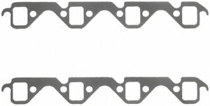 Fel pro Small Block Ford Exhaust Manifold header Gasket 2 Pc P n 1467