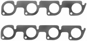 Fel pro Small Block Ford Exhaust Manifold header Gasket 2 Pc P n 1417