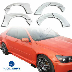 Modelodrive Frp Msv Wide Body Fender Flare Set 10pc For Lexus Is Series Is3