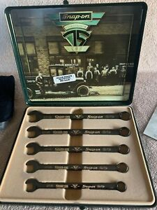 Snap On 75th Anniversary Wrench Set Bought New And Was Put Away From Day One