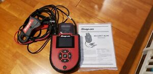 Snap On Eecs304c Microvat Elite Battery Charging Starting System Tester