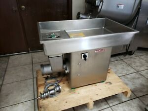 New Meat Grinder 3 H p 32 Head Talsa Mfd In Spain 100 Support