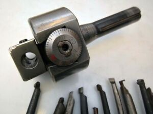 Bridgeport No 2 Boring Head With Cutters inv 40187