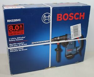 Bosch Rh328vc 1 1 8 Sds Plus Corded Rotary Hammer Drill With Factory Case Bit