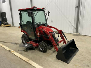 2019 Tym Tractors T194h Hydrostatic Tractor W Cab Loader Mower New