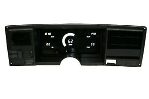 1988 1991 Chevy Truck Digital Gauge Cluster White Led Gauges For Ls Engine