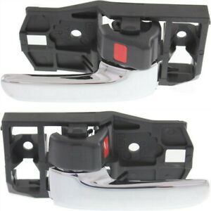 Interior Door Handles Set Of 2 Front Or Rear Left and right Sedan Lx1352103 Pair