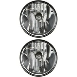 Set Of 2 Fog Lights Lamps Front Left and right For Explorer Fo2590111 Ford Pair