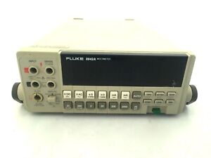 Fluke 8842a Dmm 5 5 Digit Dc Tested Very Accurate W options Ac 09 Ieee 05 488