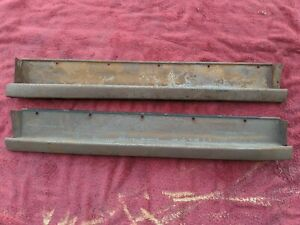 1937 1938 Chevy Gmc Pickup Truck Rocker Panel Pair Very Nice Original Chevrolet