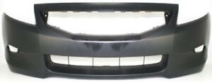 Primed Front Bumper Cover Replacement For 2008 2010 Honda Accord Coupe