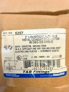 T b 5257 2 90 Degree Elbow Sealtite Liquidtight Fitting appleton Crouse Hinds