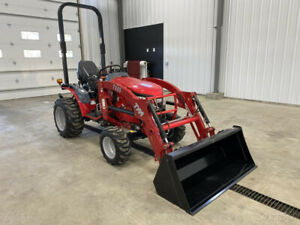 2015 Tym Tractors T254 Hydrostatic Tractor W Front End Loader New