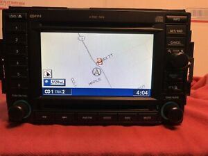 Refurbished Chrysler Dodge Jeep Navigation Radio 6 Cd Changer P56038646am Rec