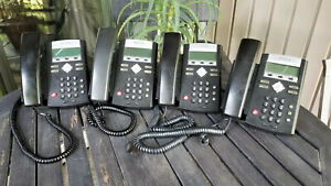 Lot Of 4 Polycom Ip 330 Sip Soundpoint Phones
