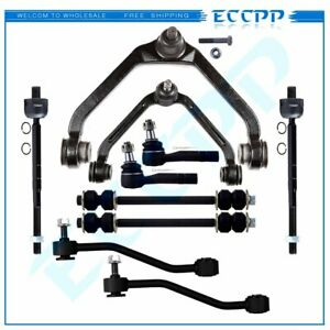 10pcs Complete Sway Bar Control Arm Tie Rod End For 1995 2000 2001 Ford Explorer