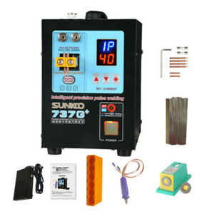 Sunkko 4 3kw 737g Spot Welder Solder Welding Machine For 18650 Battery 110v220v