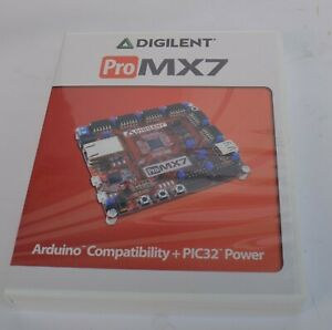 Digilent Pro Mx7 Pic32 Development Embedded Systems Trainer Board