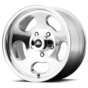 4 american Racing Vn69 Ansen Sprint 15x8 5x5 0mm Polished Wheels Rims 15 Inch