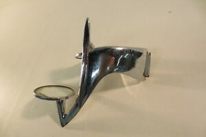 1940 S Vintage Passing Eye Mirror Dual Image Double Car Side Mount Accessory