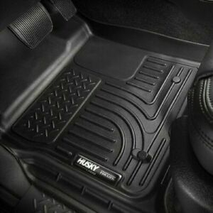 Husky Liners Wb Front Mats For Tacoma 2005 2015 Double Access Standard Cab 13941