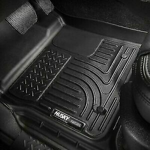 Husky Liners Wb Black Front Floor Mats For Dodge Ram 1500 Crew Cab 2019 20 13741