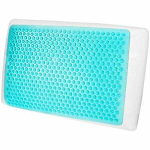 Memory Foam Hydraluxe Gel Cooling Bed Pillow Offers Coolness And Comfort