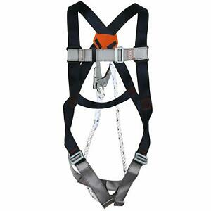 New safety Harness Fall Protection Kit Construction Full Body System Us Stock