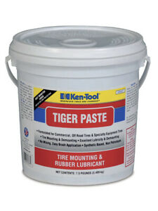 Ken Tool 35837 Tiger Paste Tire Mounting And Rubber Lubricant 7 5 Lb Bucket