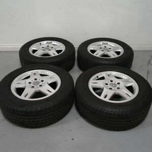 18 Oem Mercedes Wheels Rims Yokohama Tires Fits Benz G500 G550