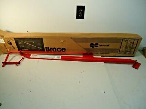Nib Qual craft Pump Jack Brace Model 2201 red