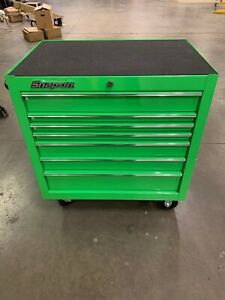 Snap On Kra2407pjj Tool Box 7 Drawer Extreme Green Roll Around Snap On