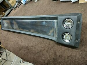 Original Mustang Roof Console Fastback 1967 1968 Deluxe Interior Gt Gta 289 390