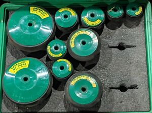 Greenlee Model 859 4 Pvc Pipe Plug Set 2 4 With Case 10 Pieces