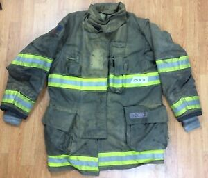 Globe G xtreme Fire Fighter Jacket Turnout Coat W Drd 42 X 35 14