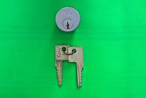 Yale Lock 1152 5 pin Mortise Original Cylinders 26d W 2 Keys New Nos