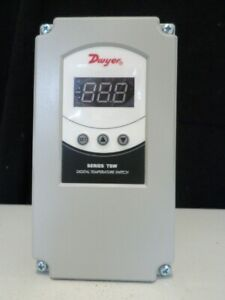 Dwyer Tsw 260 Temperature Switch Dual Stage 12 To 24 Vac vdc Weatherproof