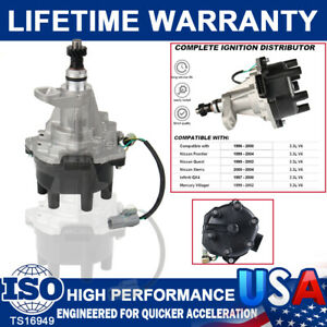 Ignition Distributor System For Nissan Pathfinder Frontier Xterra Se 3 3 96 2004