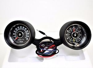 1966 Ford Mustang Rally pac Kit 6 Cyl W 6000 Rpm ford Tachometer 66f 13506 m6
