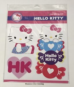 Hello Kitty Car Decal Kit New Stickers