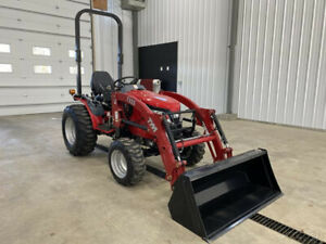 2017 Tym Tractors T254 Tractor W Front End Loader New