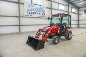 2019 Tym Tractors T254 Tractor W Bucket Loader And Cab New