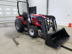 2016 Tym Tractors T354 Tractor W loader And 3rd Function Kit New