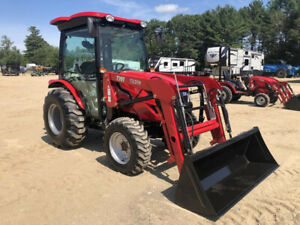 2019 Tym Tractors T394 W Bucket Loader And Factory Cab W A c New