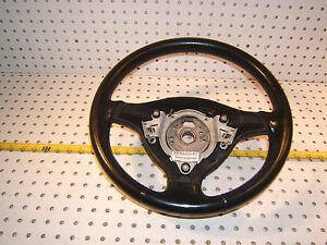 Vw Golf 2003 Gti Black Steering Genuine Oem 1 Wheel Without Air Bag Xfb323802373