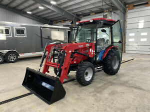 2018 Tym T394 37hp Tractor W Bucket Loader Cab 6 Year Warranty