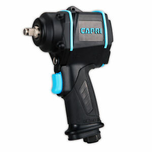 Capri Tools 1 2 In Stubby Air Impact Wrench 450 Ft Lbs