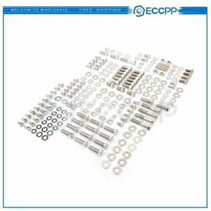For Sbc Small Block Chevy 265 350 400 283 305 327 Stainless Bolt Kit